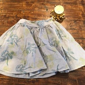 Girls cute print skirt